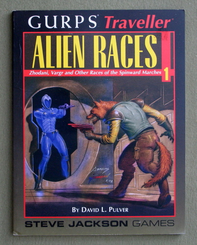 Alien Races 1 : Zhodani, Vargr and Other Races of the Spinward Marches (GURPS Traveller), David L. Pulver