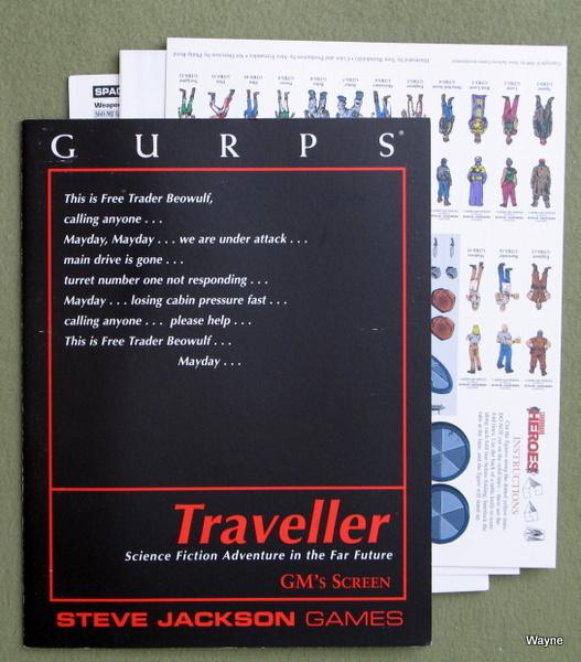 GURPS Traveller: GM Screen