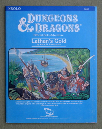 Lathan's Gold (Dungeons & Dragons Module XSOLO), Merle M. Rasmussen