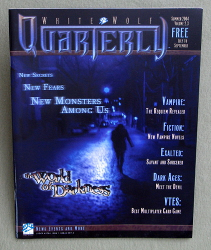 White Wolf Quarterly / Sword & Sorcery Volume 2.3 (Summer 2004)