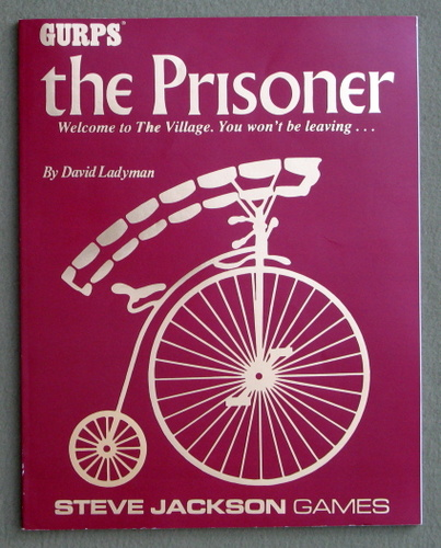 GURPS The Prisoner: Roleplaying In The Village, David Ladyman