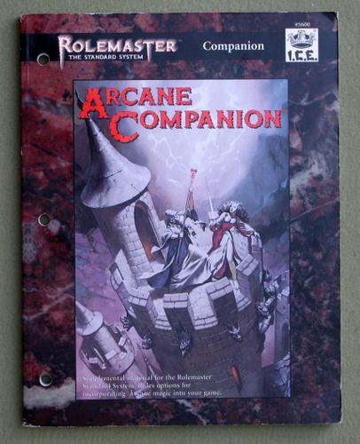 Arcane Companion (Rolemaster Standard System), Todd McGovern & John Curtis