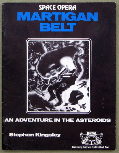 Martigan Belt (Space Opera RPG), Stephen Kingsley