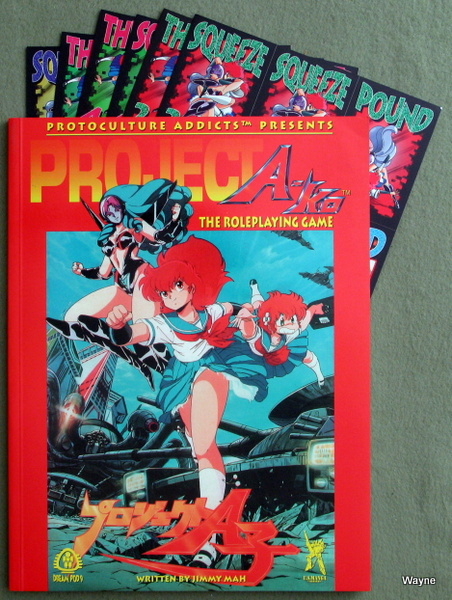 Project A-ko: The Roleplaying Game, Jimmy Mah