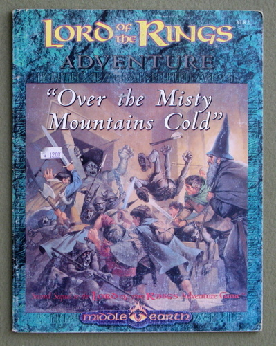 Over the Misty Mountains Cold (Middle Earth Role-playing Game) - PLAY COPY, Jessica M. Ney-Grimm