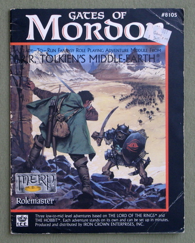 Gates of Mordor (Middle Earth Role Playing/MERP) - PLAY COPY, Graham Staplehurst