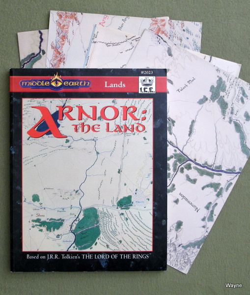 Arnor: The Land (Middle Earth Role Playing/MERP), Wesley J. Frank