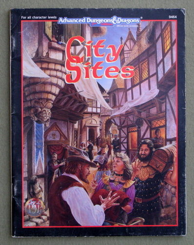 City Sites (Advanced Dungeons and Dragons 2nd Edition) - PLAY COPY, Skip Williams