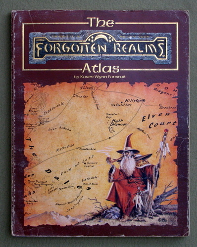 The Forgotten Realms Atlas - PLAY COPY, Karen Wynn Fonstad