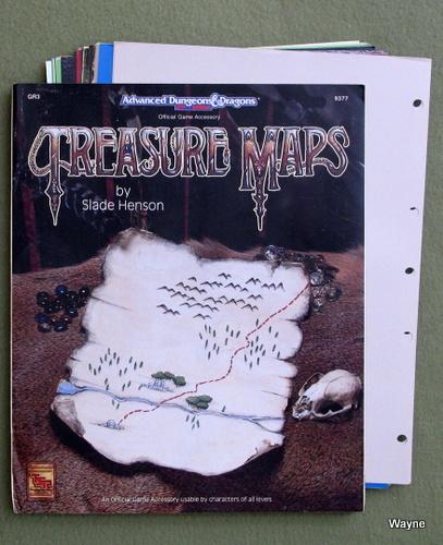 Treasure Maps (Advanced Dungeons & Dragons Accessory GR3), Slade Henson