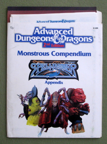 Monstrous Compendium Appendix (Advanced Dungeons & Dragons/Spelljammer Accessory MC7)