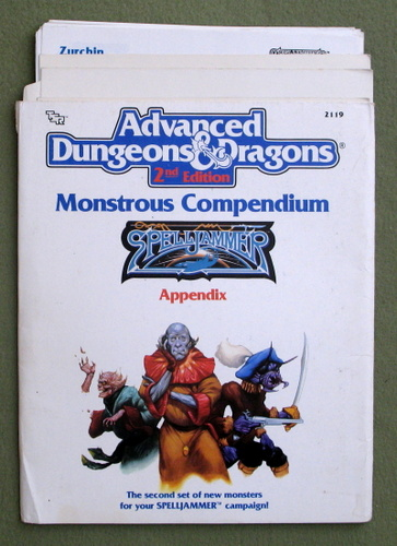 Monstrous Compendium: Spelljammer Appendix MC9 (Advanced Dungeons & Dragons, 2nd Edition
