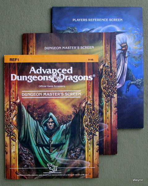 Dungeon Masters Screen (Advanced Dungeons & Dragons, 1st Edition, revised)