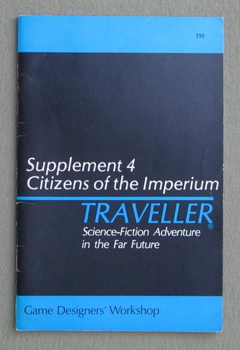 Traveller Supplement 4: Citizens of the Imperium
