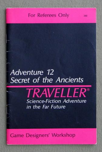 Traveller Adventure 12: Secret of the Ancients, Marc Miller