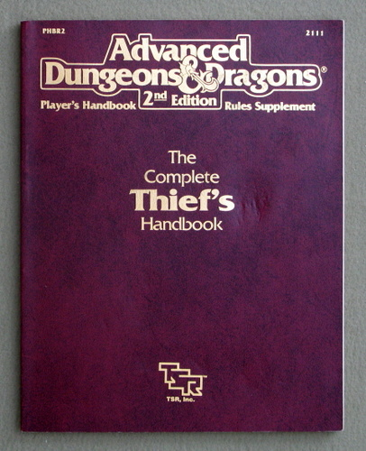Complete Thief's Handbook (Advanced Dungeons & Dragons Accessory PHBR2)