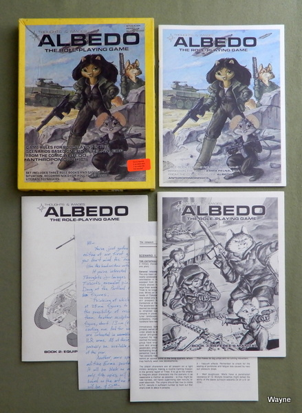 Albedo: The Role Playing Game (1st Edition), Paul Kidd & Steve Gallacci