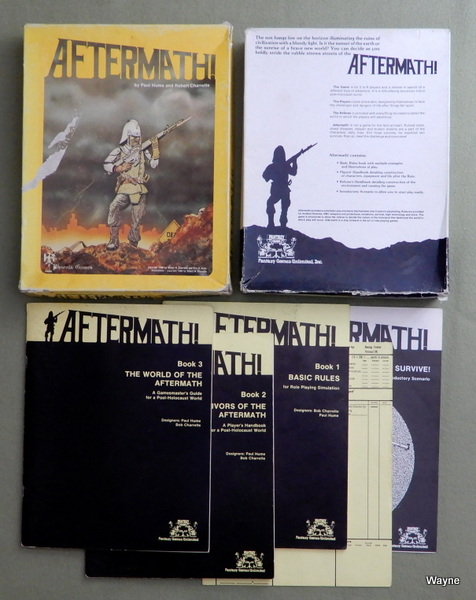 Aftermath! - A Role Playing Game Set in a Post-Holocaust World - PLAY SET, Robert Charrette & Paul Hume