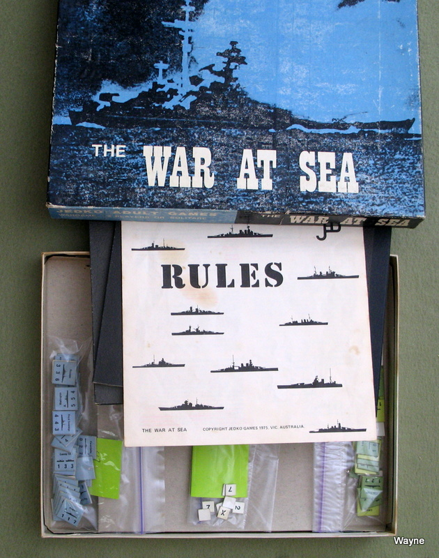 The War at Sea: Wargame (1st Edition)