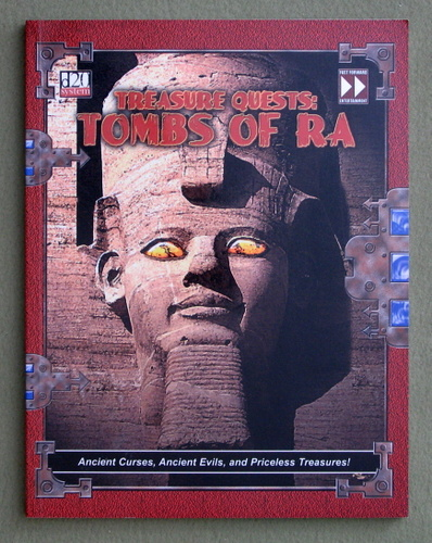 Treasure Quests: Tombs of Ra (Dungeons & Dragons: D20 System)