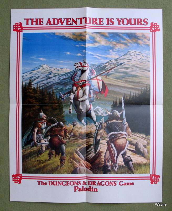 Image for Paladin Poster (Dungeons & Dragons Game)