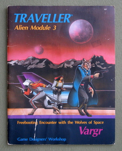 Image for Vargr (Traveller Alien Module 3)