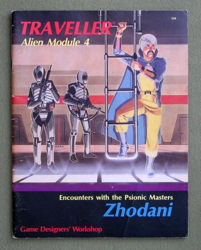 Image for Zhodani (Traveller Alien Module 4)