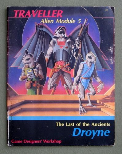 Image for Droyne (Traveller Alien Module 5) - WATER STAIN