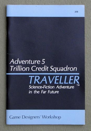 Image for Traveller Adventure 5: Trillion Credit Squadron - 1ST PRINT