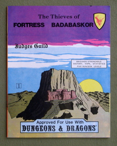 The Thieves of Fortress Badabaskor (Dungeons & Dragons)