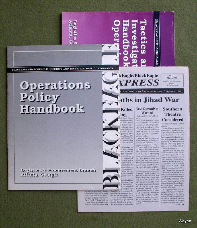 BlackEagle/BlackEagle Operative's Kit (Millennium's End)