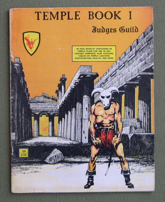 Temple Book I (Dungeons & Dragons) - PLAY COPY
