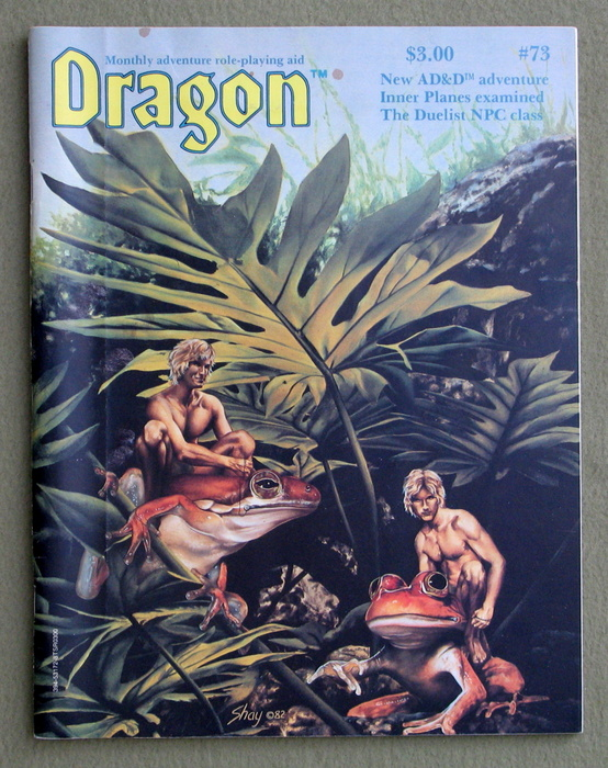 Dragon Magazine, Issue 73