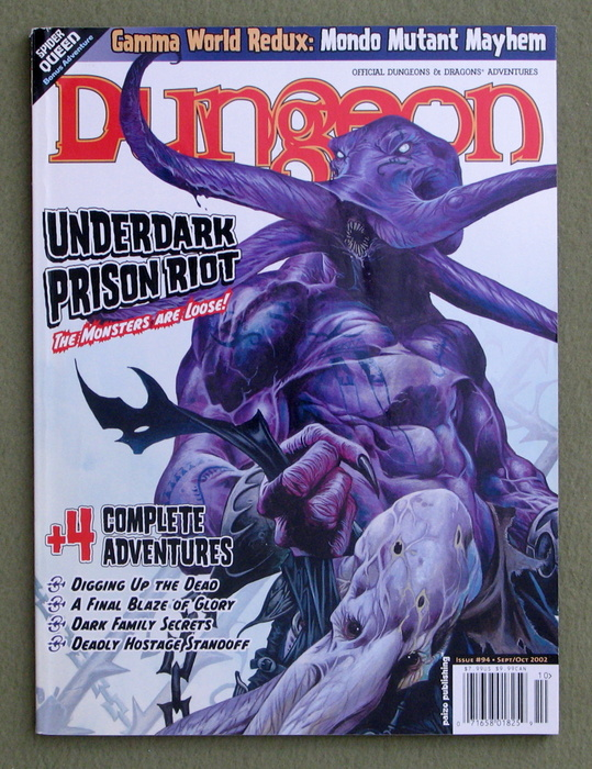 Image for Dungeon Magazine, Issue 94