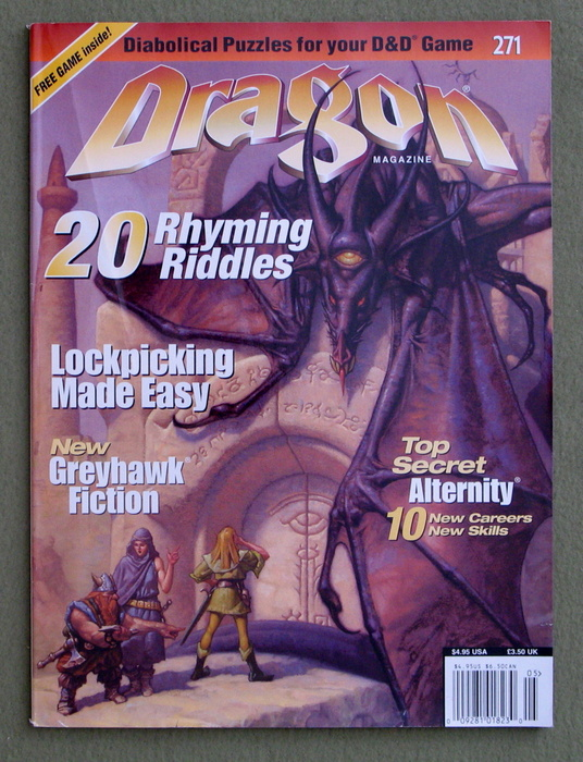 Image for Dragon Magazine, Issue 271