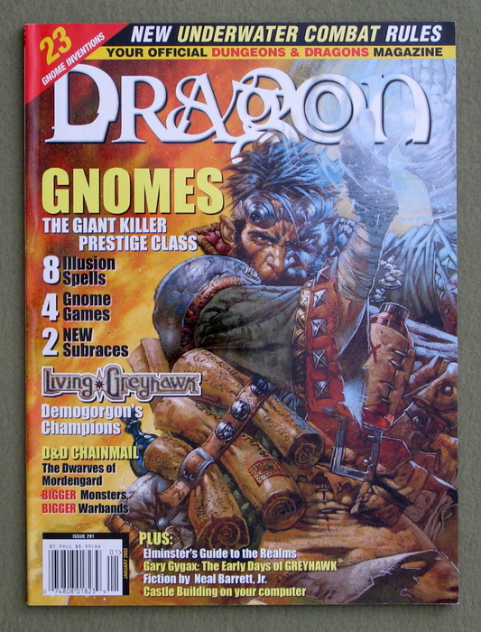 Image for Dragon Magazine, Issue 291