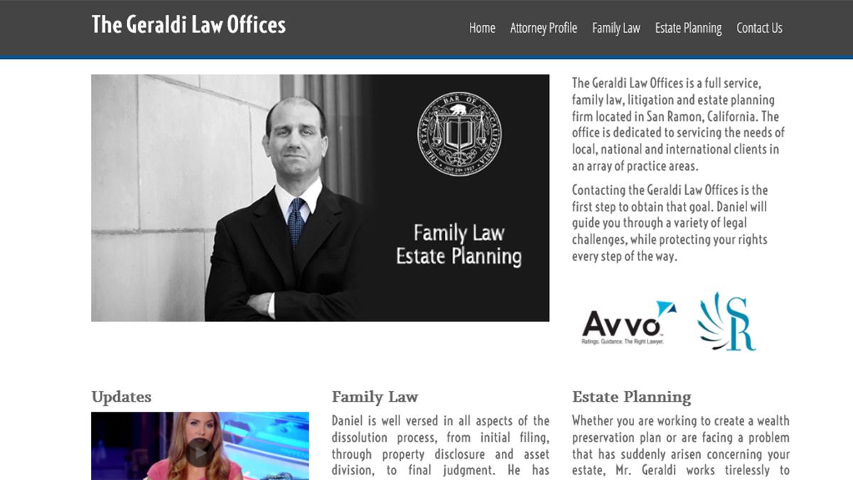 Geraldi Law Family Law Attorney