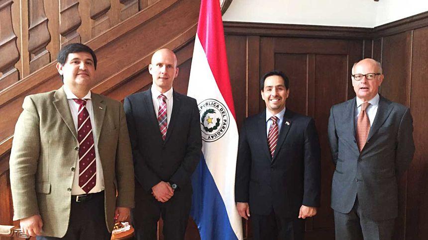 Treffen mit Vertretern des Lateinamerika-Vereins