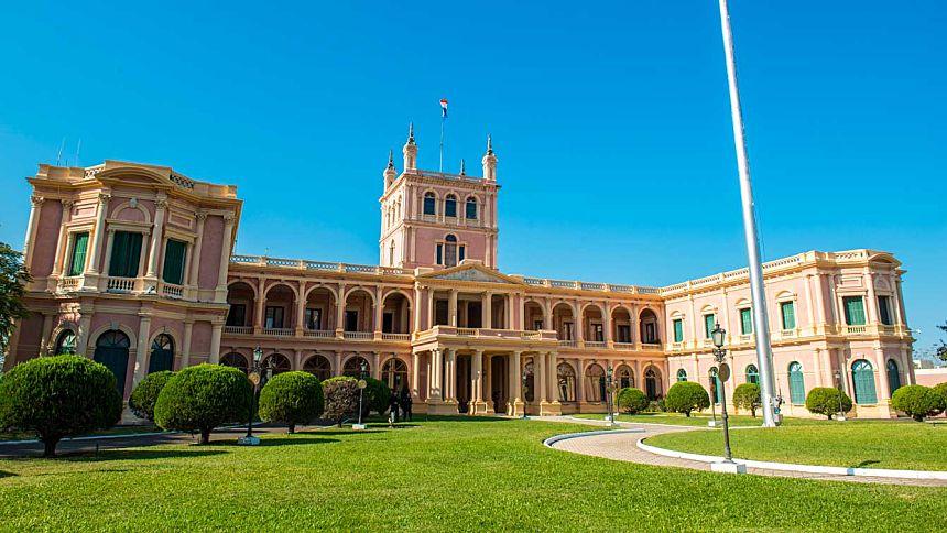 Fachada del Palacio Presidencial