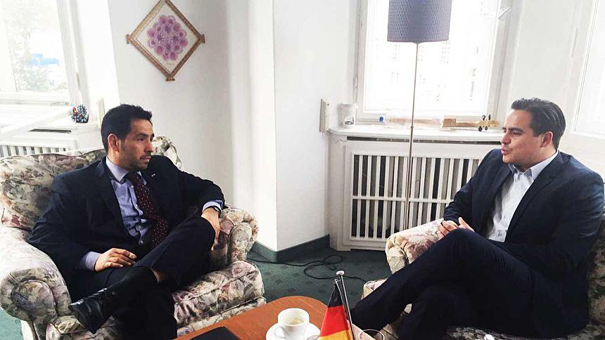 """Reunión con el Coordinador General del Programa Nacional de Becas """"Carlos Antonio López"""""""
