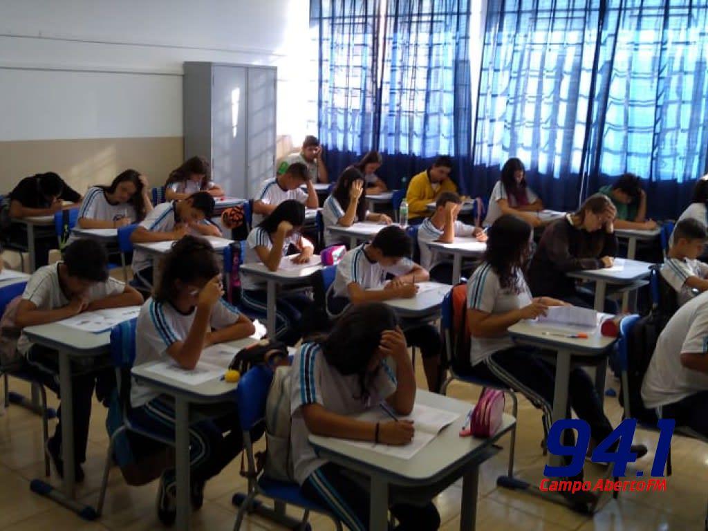 NRE de Laranjeiras do Sul comemora Resultados da Prova Paraná Mais