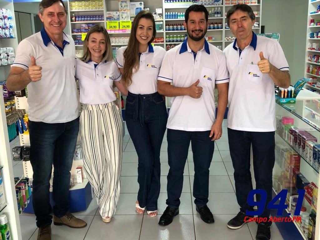 De portas abertas em Nova Laranjeiras a filial Farmácias Santa Terezinha