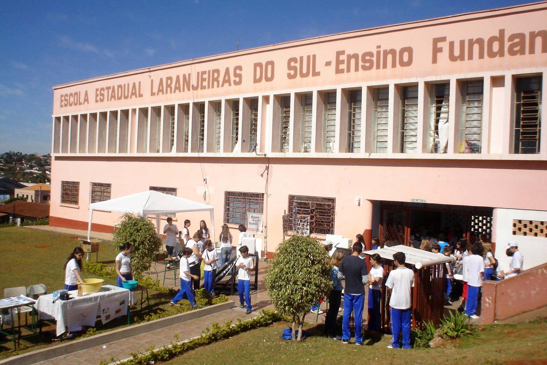 Colégio Laranjeiras é o 2° melhor nas notas do Ideb no Ensino Médio do Paraná
