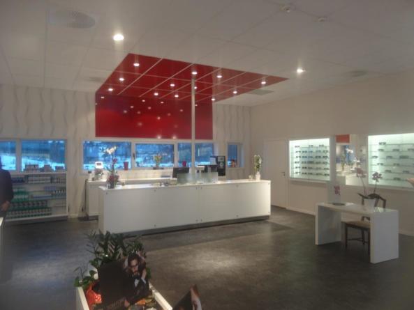 Opptikker Butikkinteriør, butikkinnredning og butikkdesign