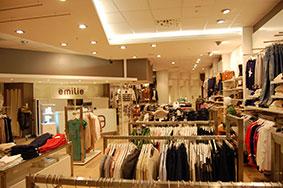 Butikkinnredning klær