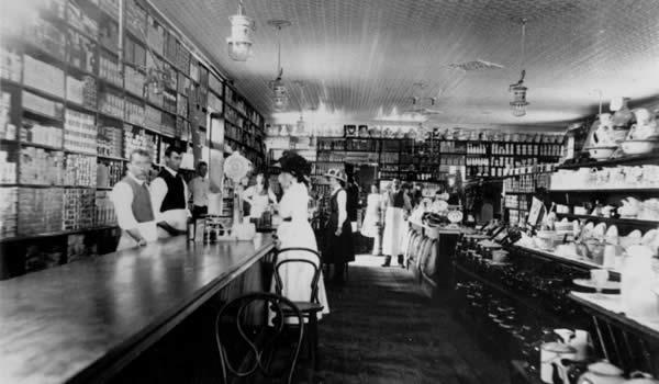 shop interior history