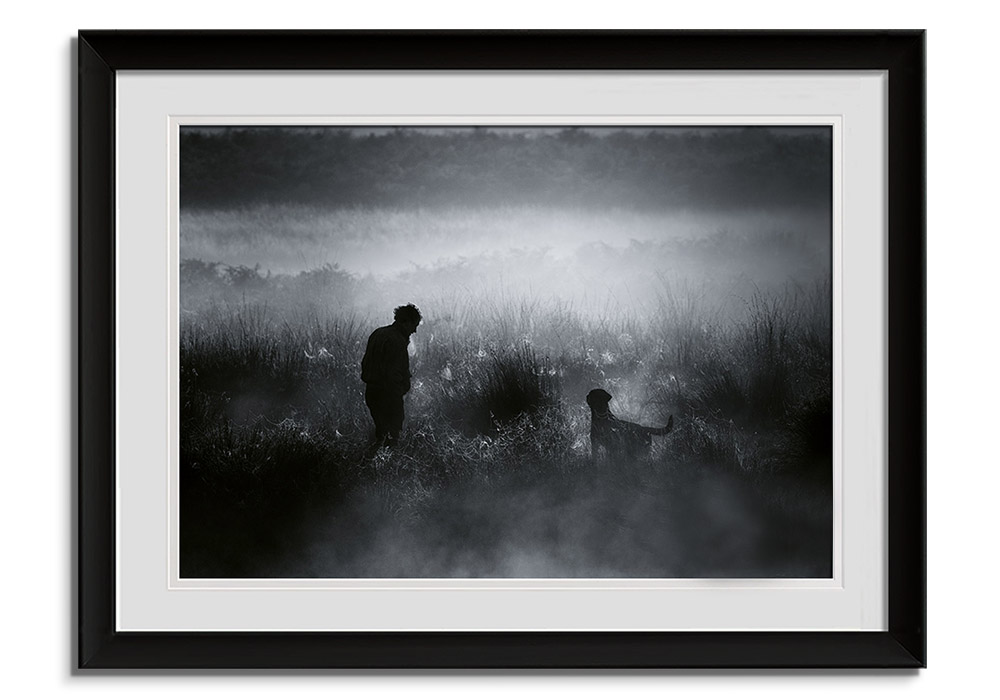 One man and his Dog by Alex Saberi