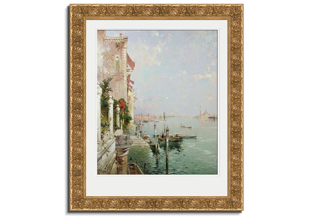 View from the Zattere  - Venice  by Franz Richard Unterberger