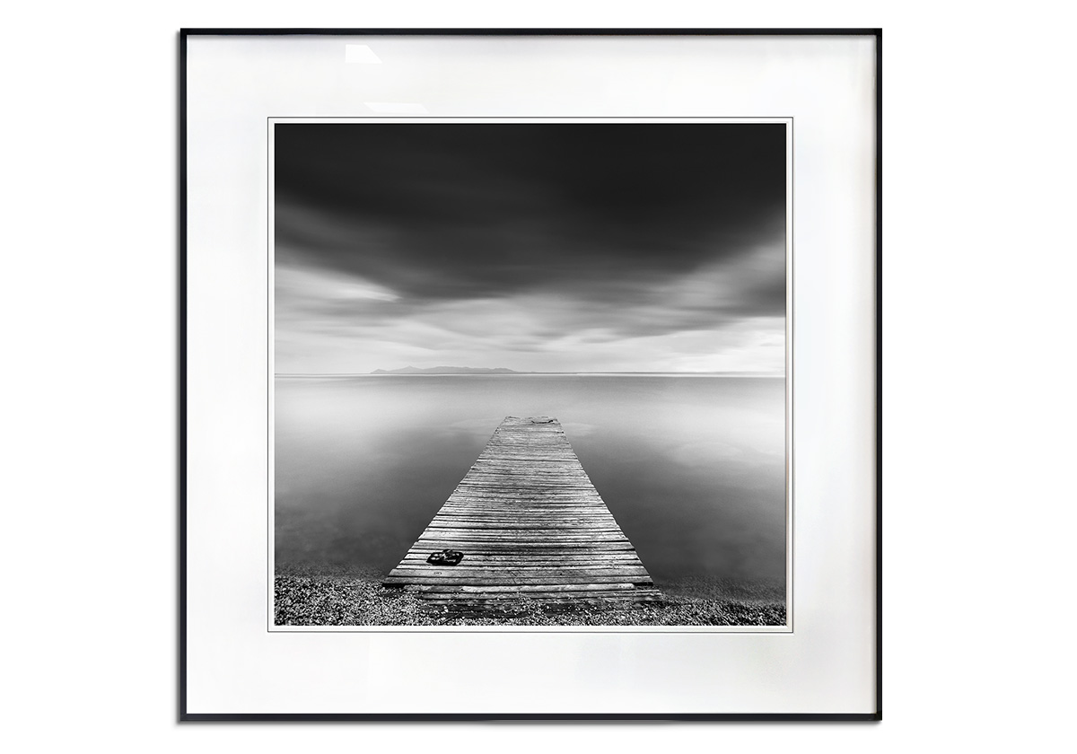 Pier with Slippers by George Digalakis
