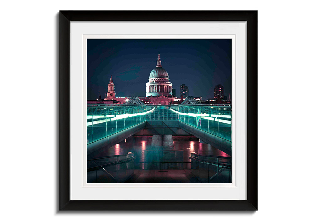 Leading Lights to St. Pauls by Assaf Frank